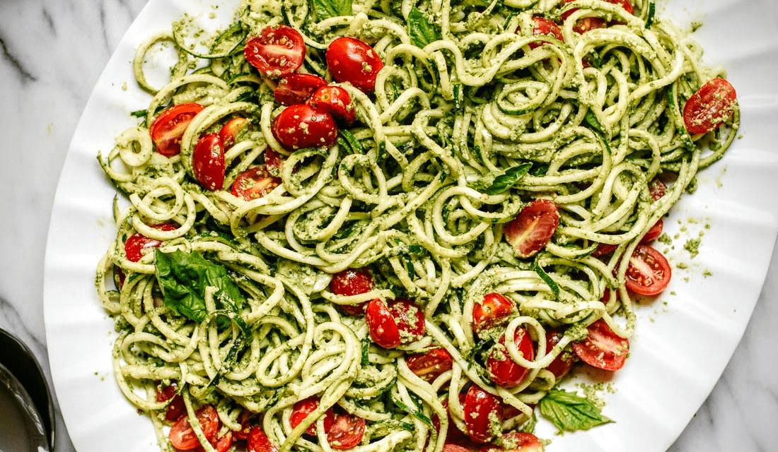 "Los ""noodles"" vegetales"