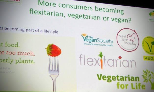 Las principales tendencias de consumo de alimentos son de inspiración vegetariana
