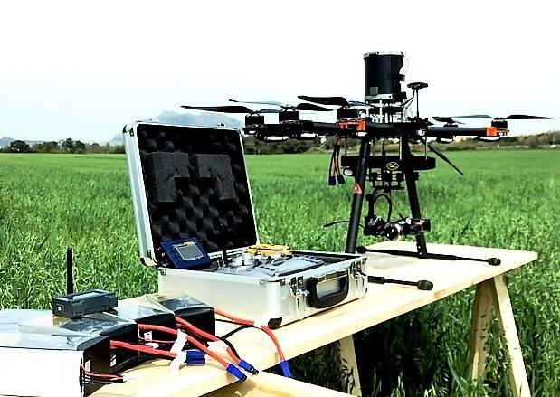 IRTA teledetección Drones