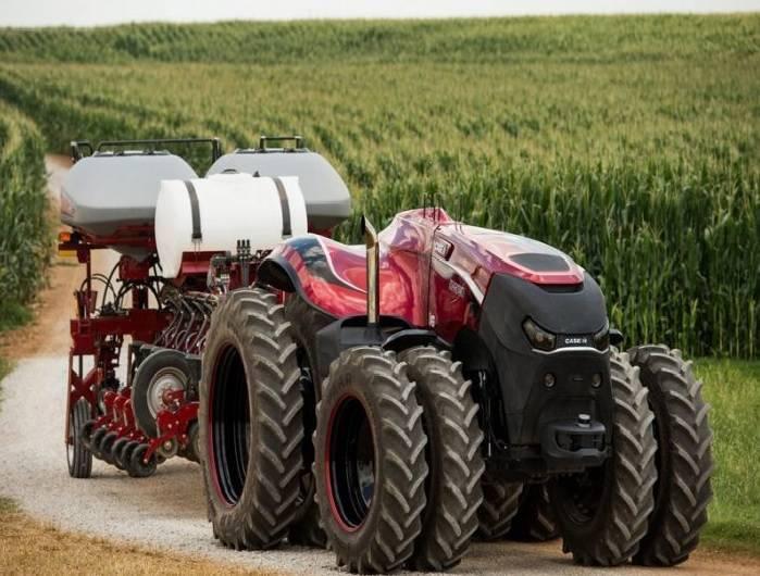 Tractor autónomo CNH