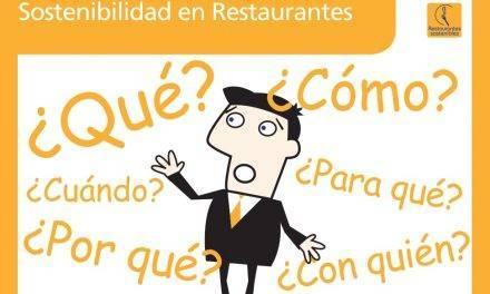 El 17 de mayo una jornada en Barcelona sobre restaurantes sostenibles