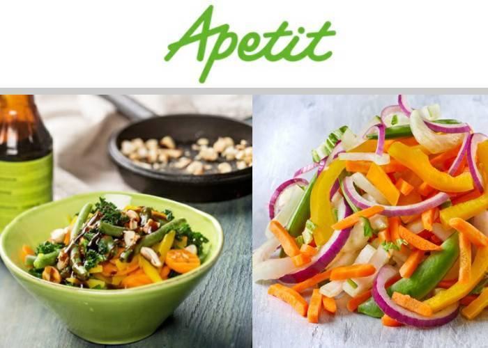 APETIT PL de Finlandia, hortalizas congeladas, …