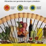 En España existen registros de más de cuarenta DOP, IGP y ETG. sólo de frutas, hortalizas y legumbres