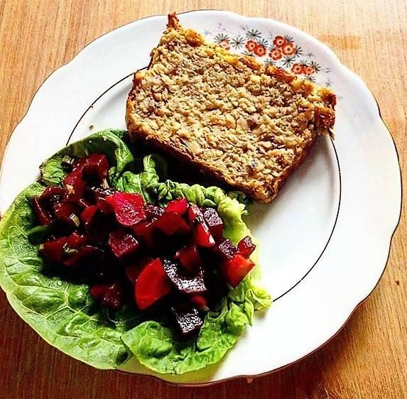 El paté vegetal de apio nabo, champiñones y jengibre
