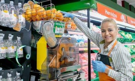 Bebidas saludables listas para tomar en las fruterías