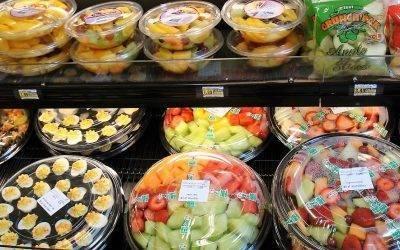 Fruta en cualquier sitio y lugar