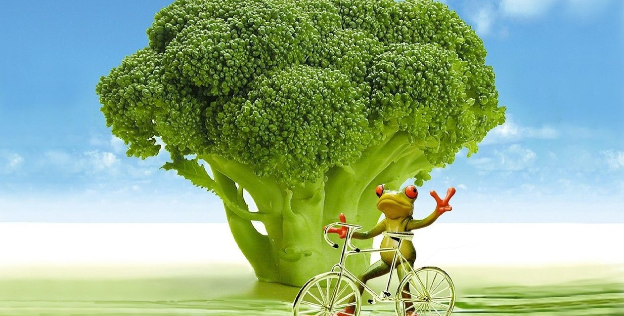 Tod@as a una y #meunoalverde son acciones de promoción de brócoli