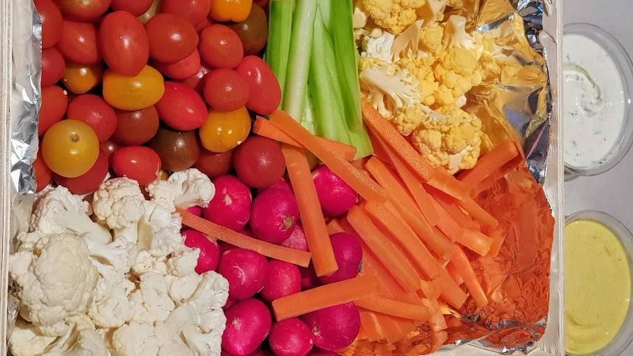 Frutas y hortalizas para el 'picoteo'