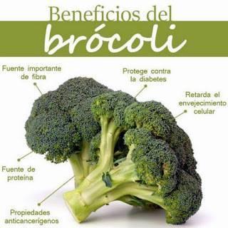 Brócoli 100 Gramos Al Día Una Maravilla