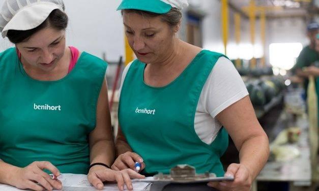 La producción ecológica en Benihort