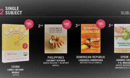 Grandes chefs y +Brócoli, se lleva el bronce de los premios 'Best in the world'