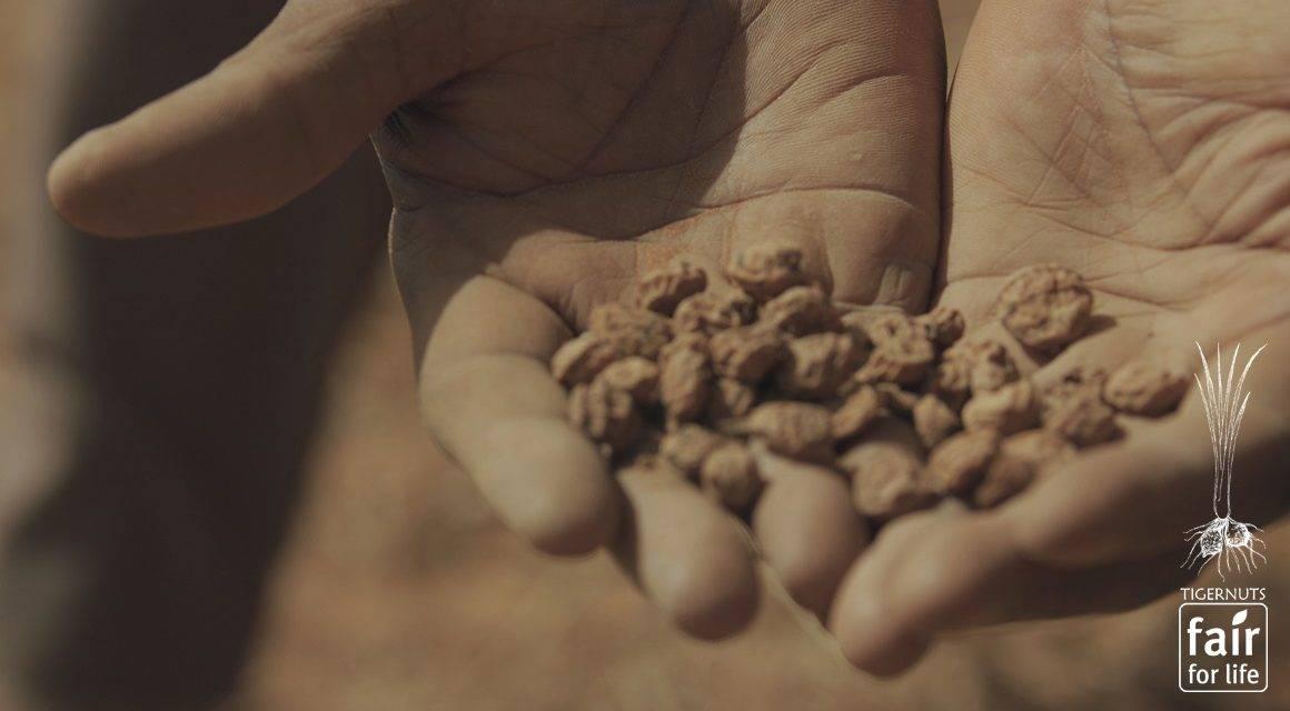 Tigernuts Traders, con el sello 'Fair For Life' de Ecocert