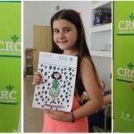 Un cohete espacial con forma de alcachofa gana el concurso escolar de dibujo