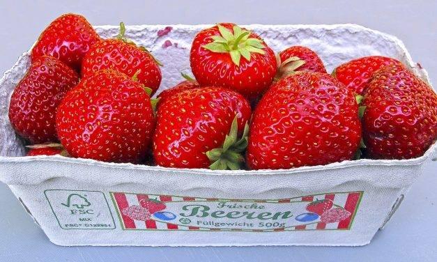 El consumo de fresas aumenta