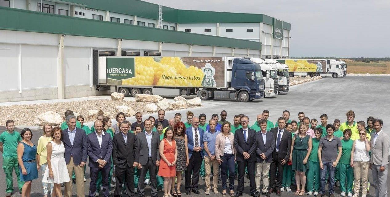 HUERCASA inaugura un nuevo centro logístico de 10.000 metros cuadrados construidos