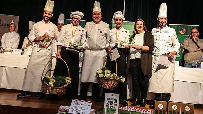 El brócoli protagonista en el I Certamen de Gastronomía con Koldo Royo