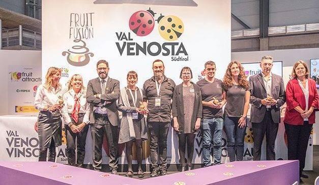 Entrega Premios Golden Gold a las fruterías españolas más exigentes