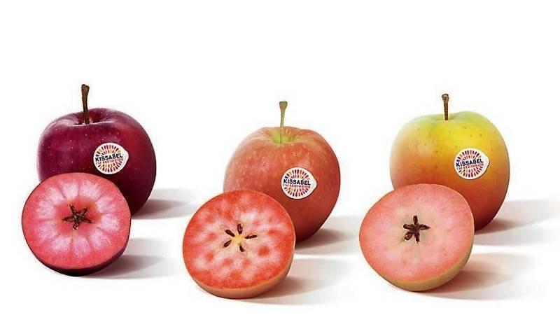 Kissabel® una marca de manzanas con un sorprendente color rojo