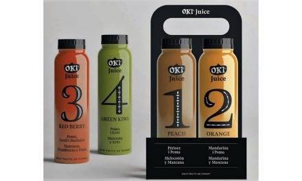 Los zumos OKI son de Fruit de Ponent