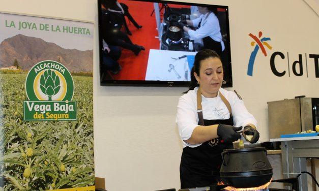 La Alcachofa de La Vega Baja triunfa en Gastrónoma de la mano de la Chef Aurora Torres