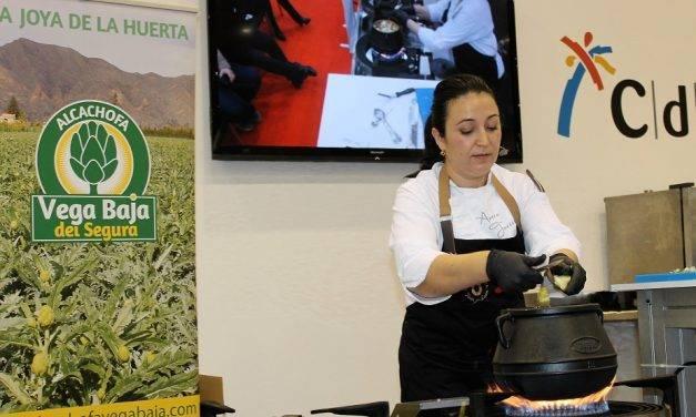 La Alcachofa de La Vega Baja en Gastrónoma de la mano de la Chef Aurora Torres