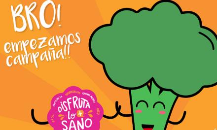 """La campaña #meunoalverde y el mensaje """"disfruta lo más sano"""" para la promoción del brócoli"""