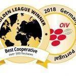 Anecoop Bodegas, Cooperativa Vinícola del mundo en la Golden League'18