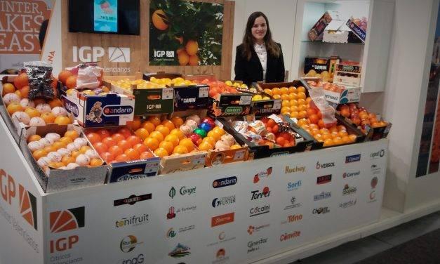 En la feria Fruit Logística la IGP, Cítricos Valencianos mira hacia Asia