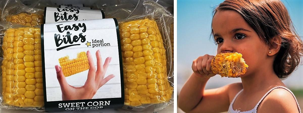 Easy Bites de maíz