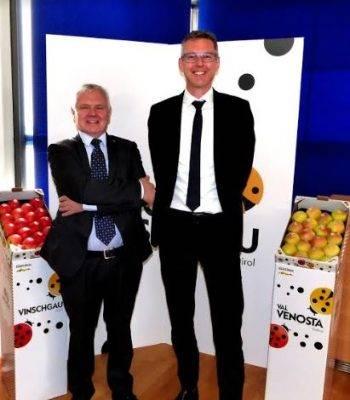 Dirigentes de Asociación de Productores Hortofrutícolas de Val Venosta