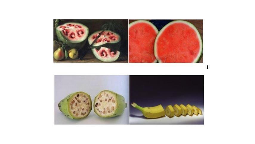 Frutas y verduras tradicionales, no lo son tanto