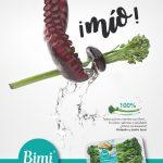 La hortaliza bimi estrena publicidad en España