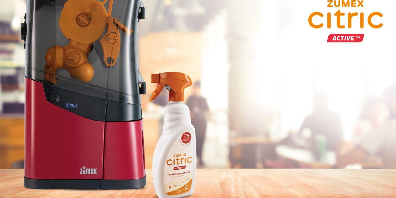 Lanzan un producto de limpieza para exprimidoras profesionales