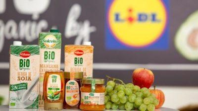 Lidl es el supermercado que más vende productos bio en España