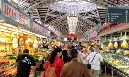 Frutas y verduras en los mercados municipales