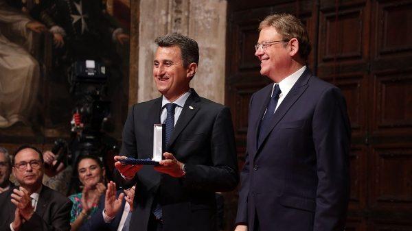 Generalitat Valenciana honra grupo de cooperativas citrícolas españolas