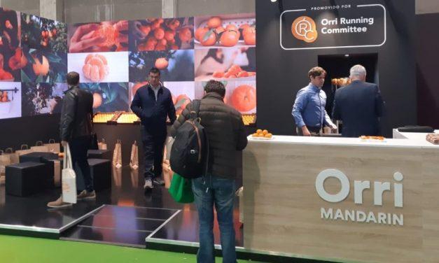 La variedad de mandarina Orri presenta su nueva imagen