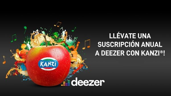 Manzanas Kanzi sortea en España un año de música gratis