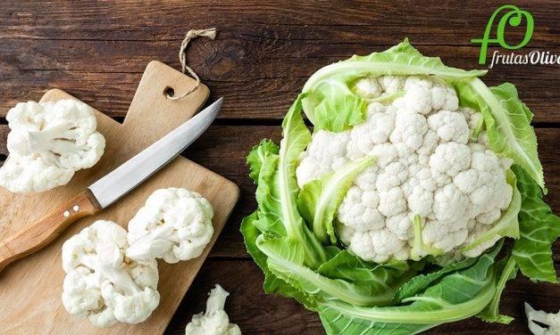 La coliflor, muy saludable, versátil en la cocina y atractiva al paladar
