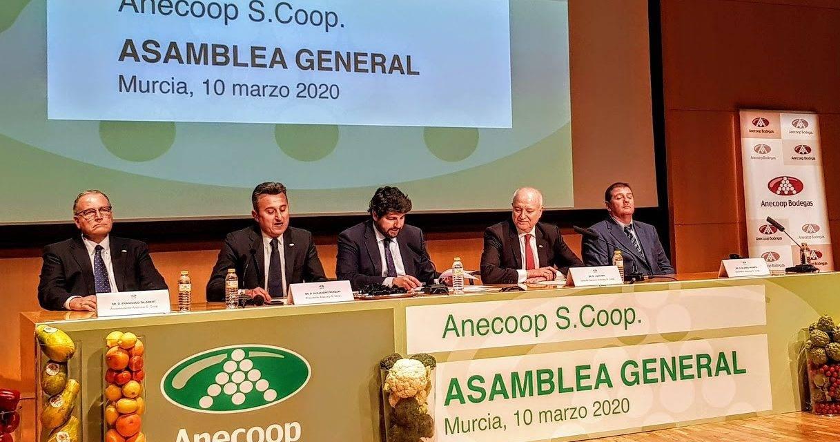 La cooperativa agroalimentaria Anecoop celebró su Asamblea General