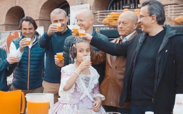 La Naranjada Fallera se realiza por onceava vez
