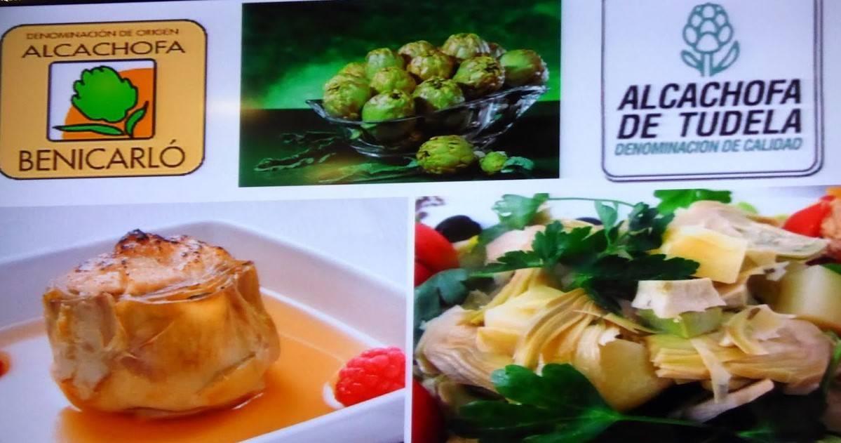 Menús de Alcachofa