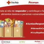 Alcampo pone en marcha #JuntosRespondemos para recaudar fondos a #CruzRojaRESPONDE