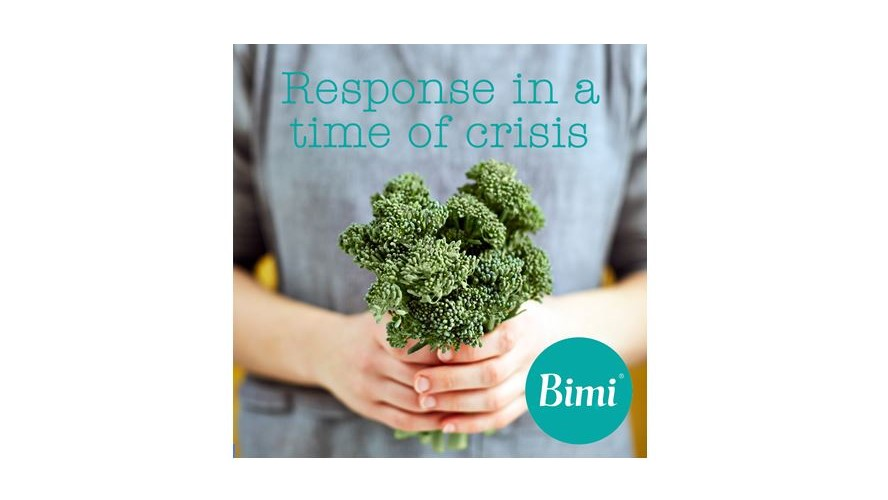 Bimi® broccoli family says a special thank for all of our growers, suppliers and retailers