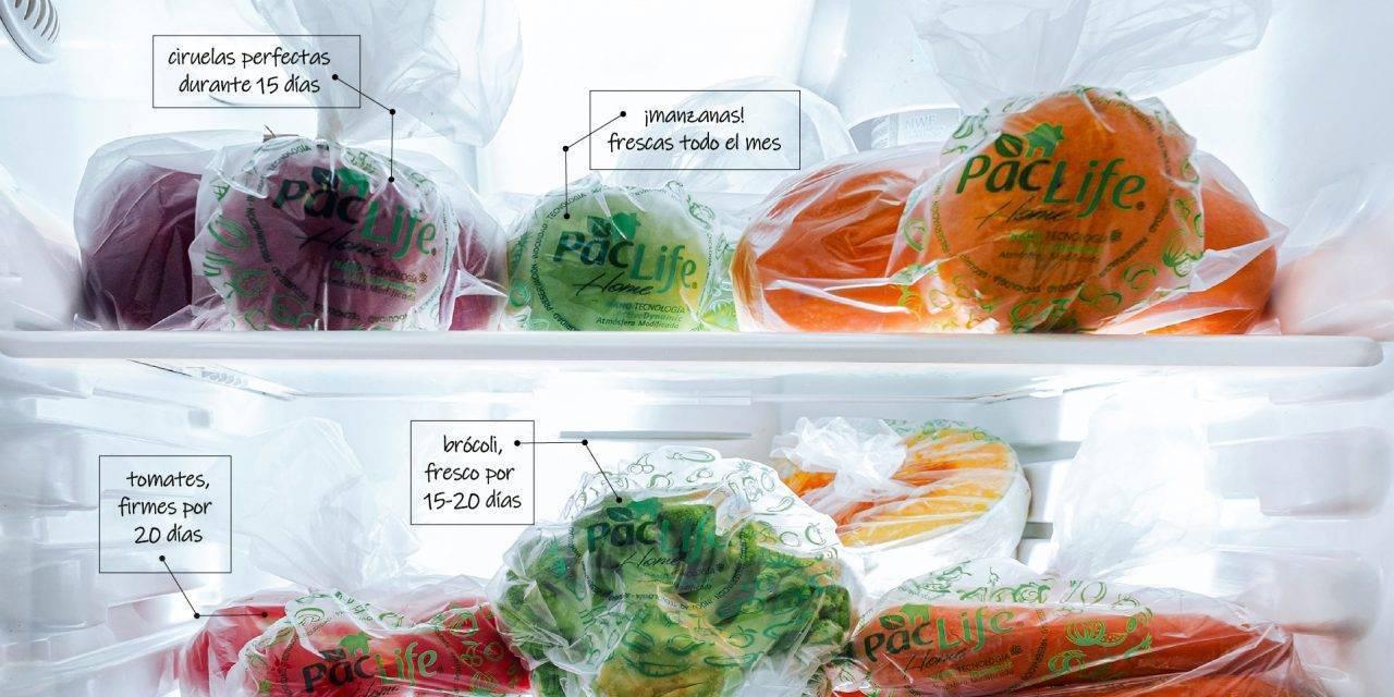 Bolsas para conservar más tiempo y mejor frutas y verduras