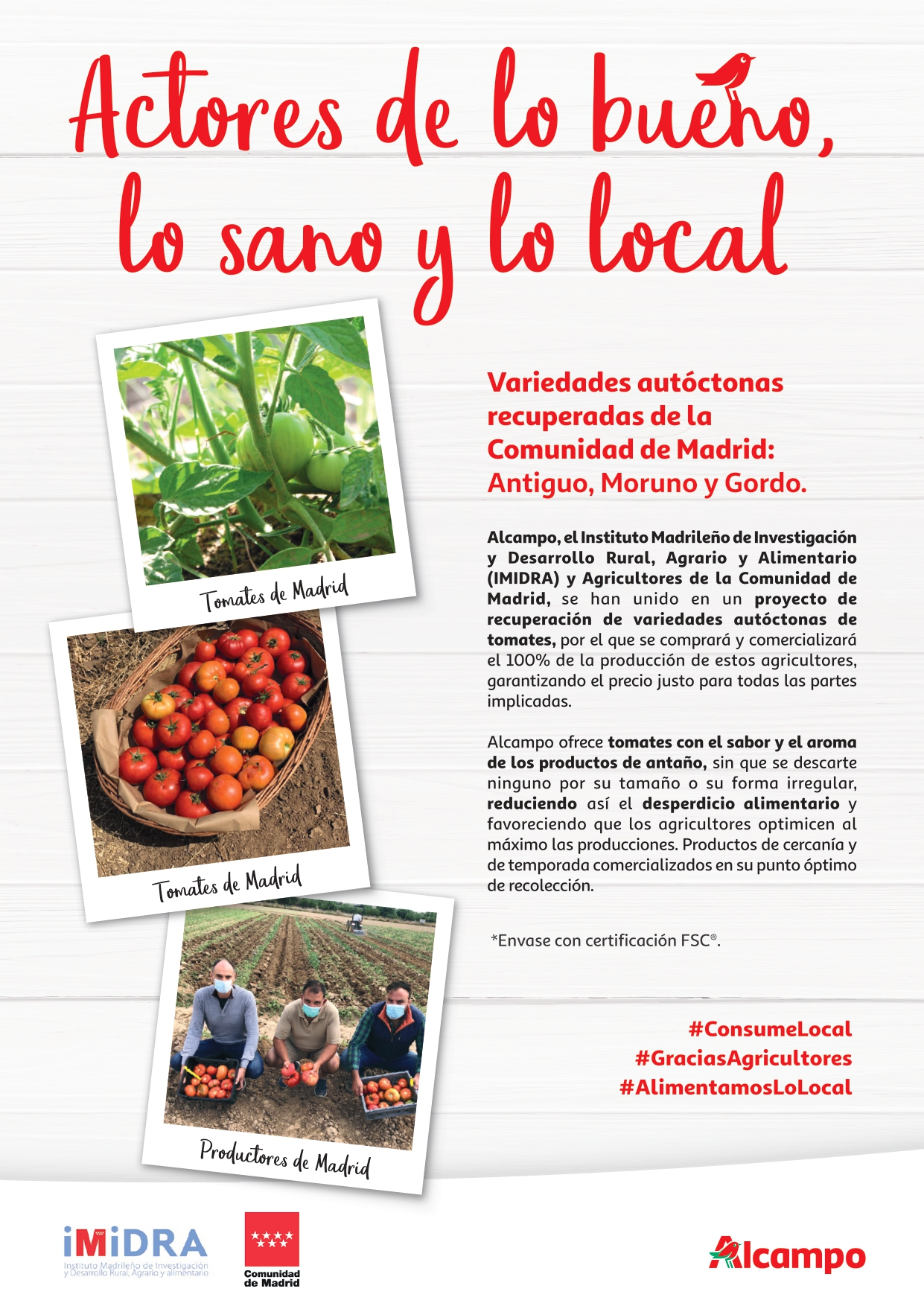 Tomates de Madrid Alcampo