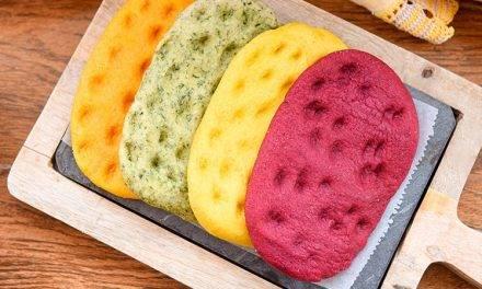 Remolacha y maíz para hacer panes de colores