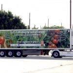 Las frutas y hortalizas de invernadero se promocionan sobre ruedas por toda Europa