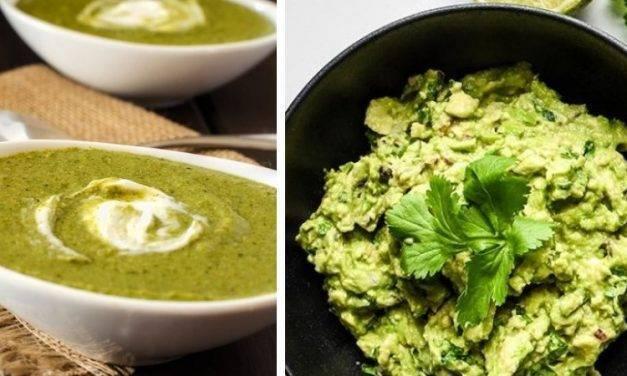 El brocomole, guacamole con brócoli, y otros