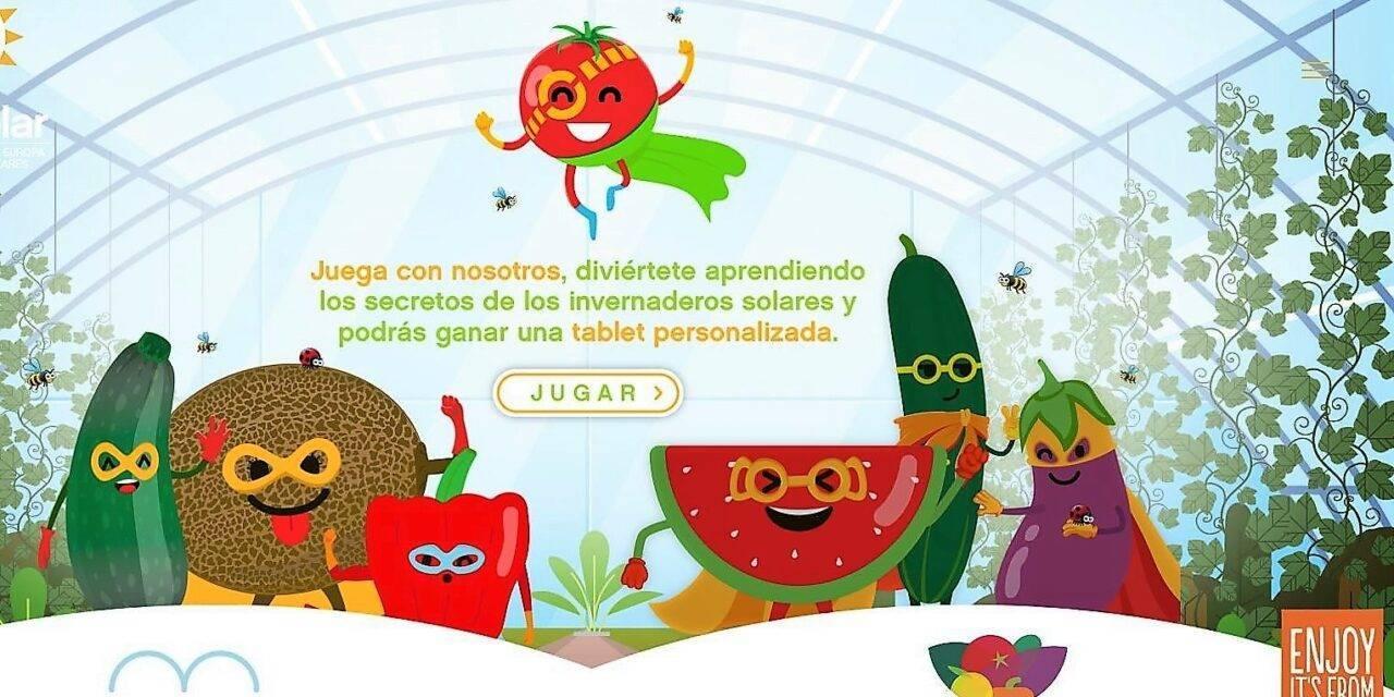 Promocionando las verduras cultivadas bajo plásticos como el sabor de Europa